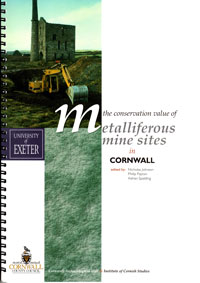 The Conservation Value of Metalliferous Mine Sites in Cornwall front page